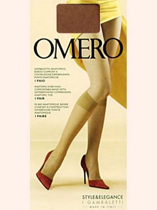 Гольфы женские Omero цвет коричневый размер M-L