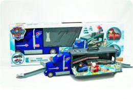 Игровой набор Трейлер-трэк Щенячьего Патруля  (Автовоз, Патрулевоз)
