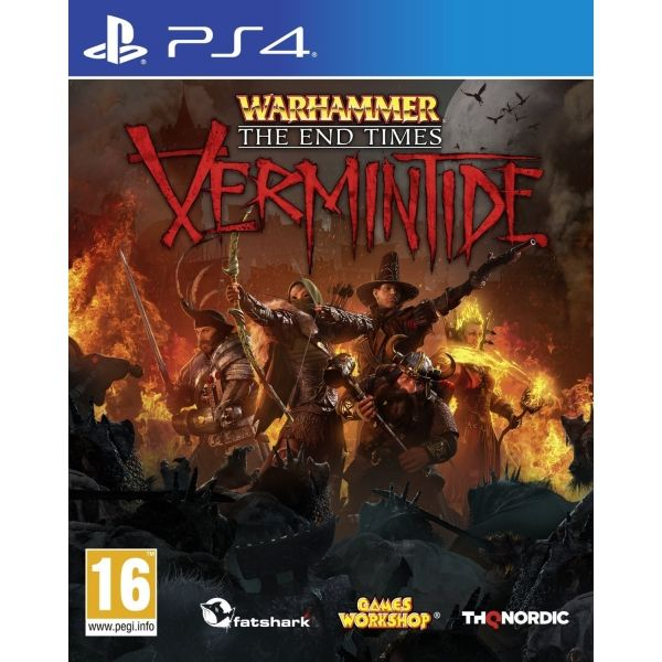 Игра Warhammer The End Times Vermintide (PS4)