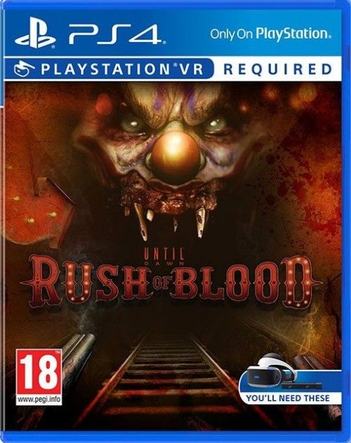 Игра Until Dawn: Rush Of Blood (только для VR) (PS4, русская версия)