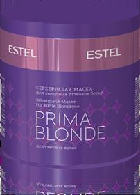 Серебристая маска для холодных оттенков блонд ESTEL PRIMA BLONDE