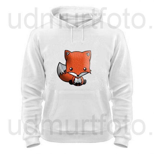 Толстовка с лисичкой