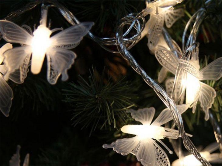 Гирлянда БАБОЧКИ 40 лампочек