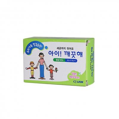 CJ Lion Антибактериальное мыло Ai - Kekute Лимонное масло, для всей семьи, 100 гр