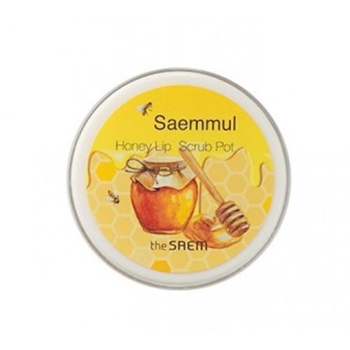 THE SAEM Honey Скраб для губ медовый Saemmul Honey Lip Scrub Pot