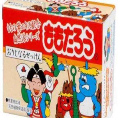 Fudo Kagaku Момотаро Детское мыло с экстрактом листьев персика (твёрдое) 100г 1/36