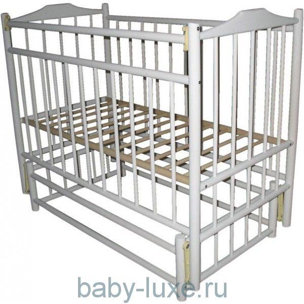 Детская кроватка Василек 6 маятник/без ящика