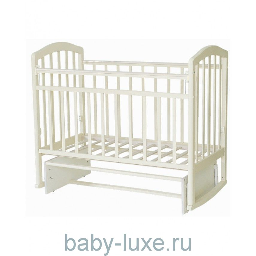 Кроватка детская Алита-3 (колесо, качалка, маятник поперечный)