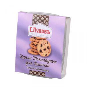 ПУДОВ Капли шоколадные термостабильные 90 г