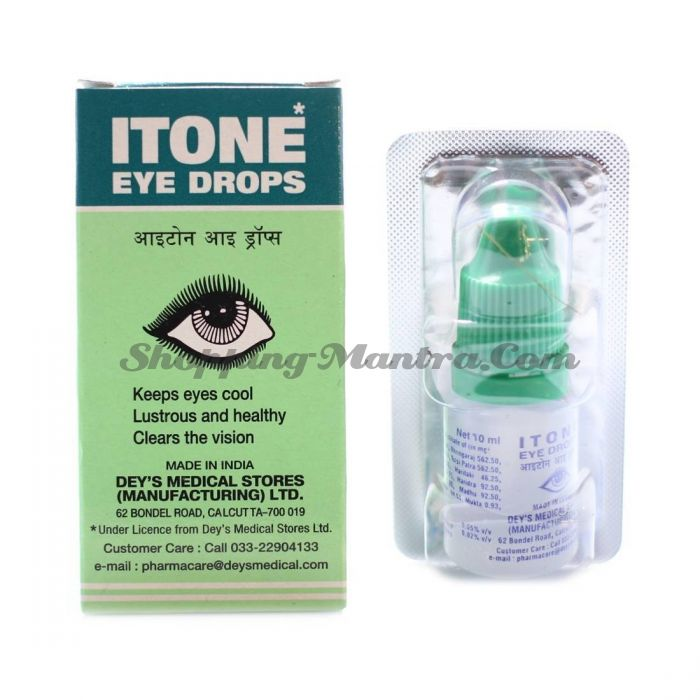 Глазные капли Айтон Dey's Medical Stores Itone Eye Drops