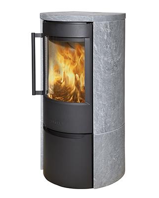 Отопительная печь WIKING Luma 4 в облицовке из талькохлорита