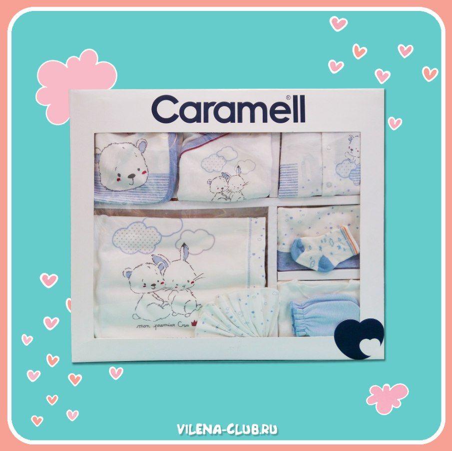 Набор для новорожденных Мишка с Зайкой Caramell