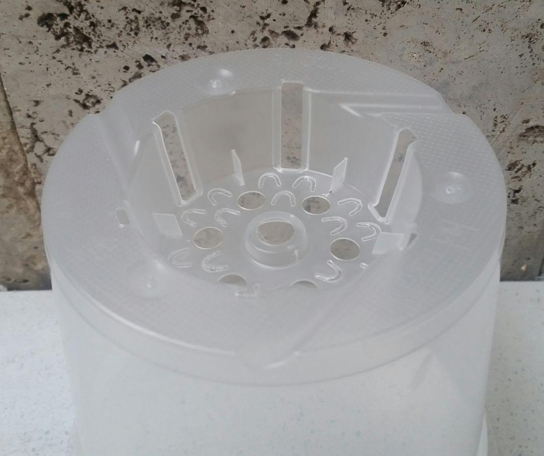 Горшок для орхидей прозрачный  TЕКU (Германия) различных диаметров