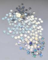 Снежинки для дизайна ногтей #12 (серебро голограмма мелкие)