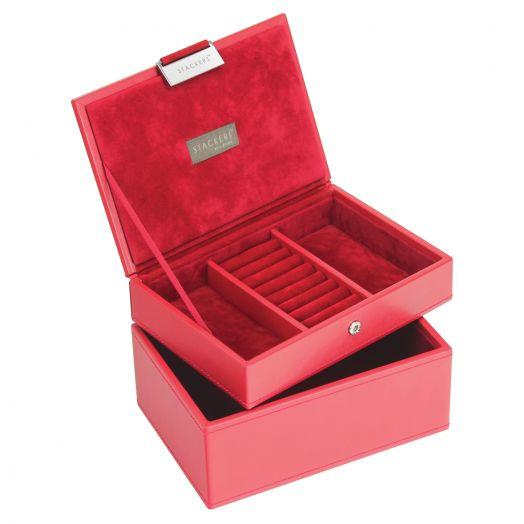 Универсальная шкатулка для хранения украшений и аксессуаров LC Designs Lady St.red-red 73178