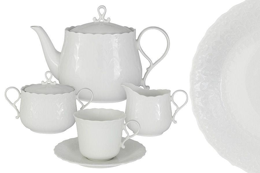 "Чайный сервиз на 6 персон ""Шелк"", 17 пр."