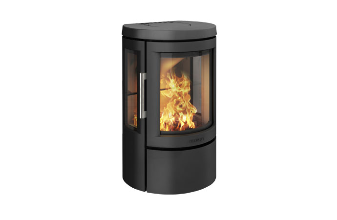Отопительная печь HWAM 2610c, цвет черный/серый