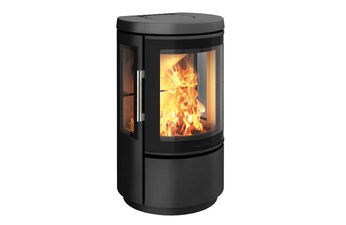 Отопительная печь HWAM 2610m, цвет черный/серый