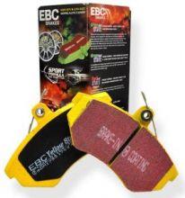 Колодки тормозные, EBC, серия Yellow Stuff, передний к-кт для 3.0 Twin TD