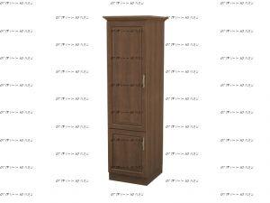 Шкаф 1-дверный №3 Массив DreamLine (53х56х220)