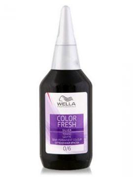 Wella Color Fresh Silver Оттеночная краска 0/6 Жемчужный