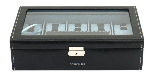 Шкатулка для хранения 7 + 2 часов Friedrich Lederwaren Bond 20099-2