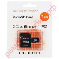 Карта памяти QUMO MicroSD 2Гб