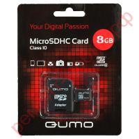 Карта памяти QUMO MicroSD 8 Гб