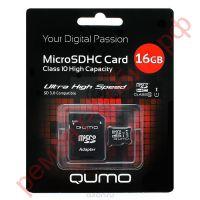 Карта памяти QUMO MicroSD 16 Гб