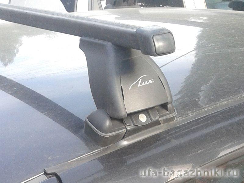 Багажник на крышу Lada Kalina, Lux, стальные прямоугольные дуги
