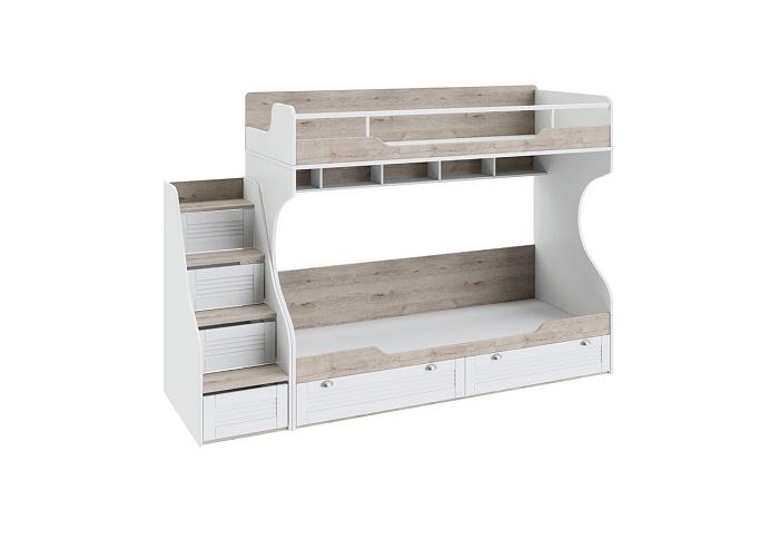 Кровать «Ривьера» двухъярусная  (с приставной лестницей)