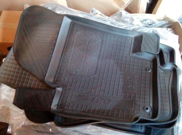 Коврики салона резиновые HYUNDAI i20 (к-т 4 шт.) R81301J001 Hyundai