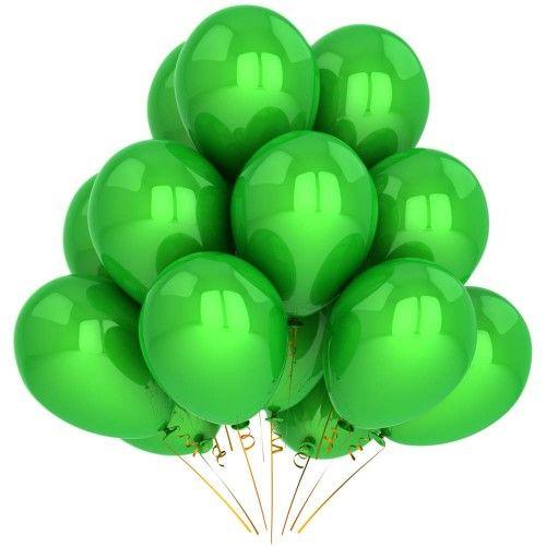 Гелиевый шар зеленый