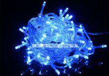 Светодиодная гирлянда уличная 10 метров Синяя