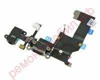 Шлейф для iPhone 5 с разъемом зарядки