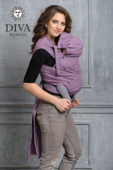 Diva Basico Perla май-слинг с капюшоном