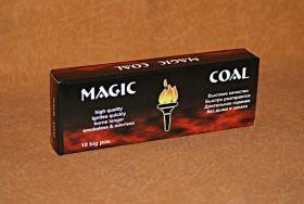 Уголь для кальяна натуральный прессованный - Magic Coal