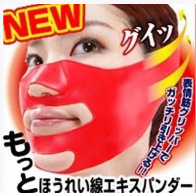 Силиконовая маска бандаж для подтяжки и коррекции овала лица с  3D лифтинг эффектом