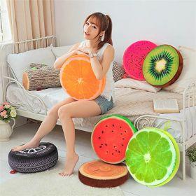 Оригинальные декоративные подушки в виде 3D фруктов