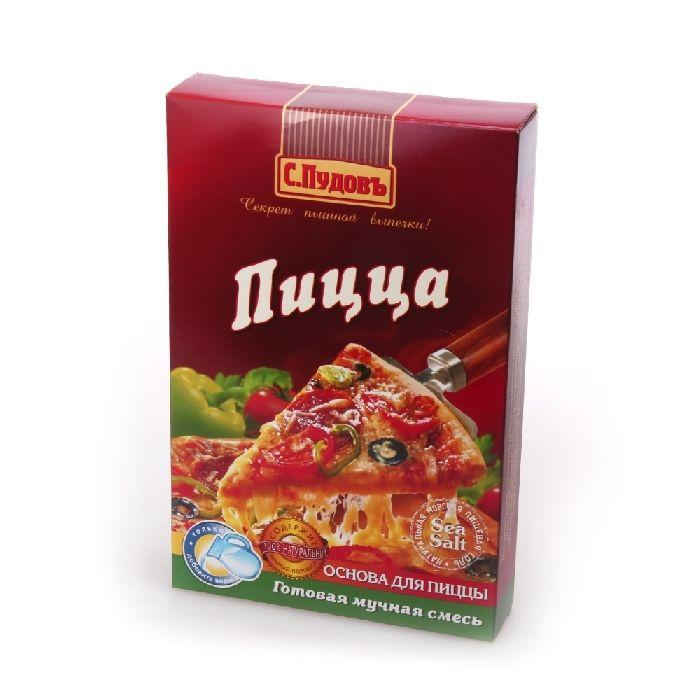 ПУДОВ Пицца смесь мучная 350 г