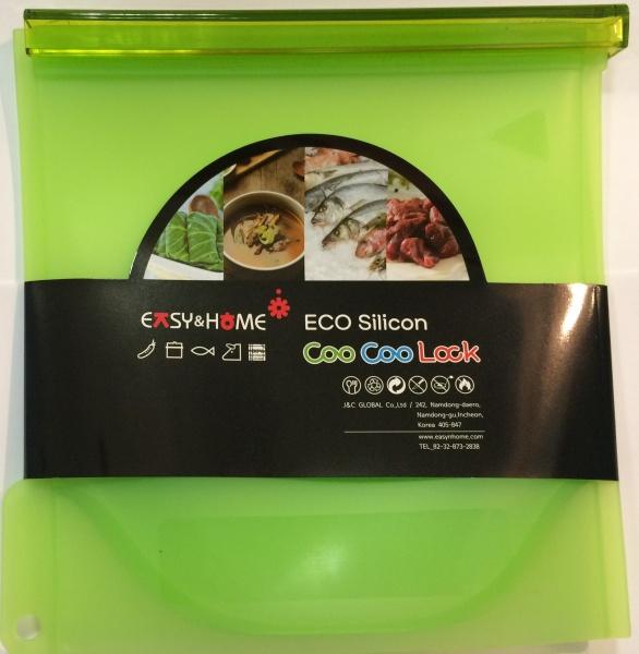 J&C Globac Эко-пакет силиконовый зелёный