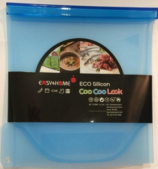 J&C Globac Эко-пакет силиконовый синий