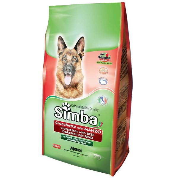 Корм сухой SIMBA Dog для собак всех пород с говядиной 0.8кг