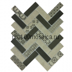 Tweed Gray Мозаика размер, мм: 326*304*6 (ORRO Mosaic)