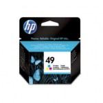 Картридж оригинальный Hewlett-Packard  (цветной) 51649AE