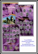 АКЦИЯ!!! Все 40 монет серии 70 лет ВОВ1941-1945гг + альбом