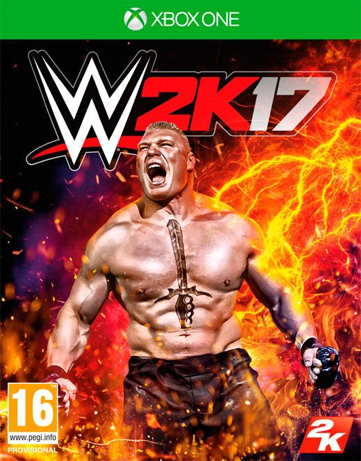 Игра WWE 2K17 (Xbox One)