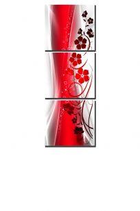 красная абстракция (размер М)