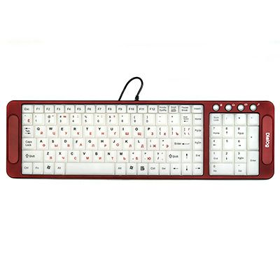 Клавиатура Dialog Katana с подсветкой клавиш KK-L04U Red