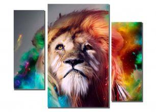 Стилизованный лев
